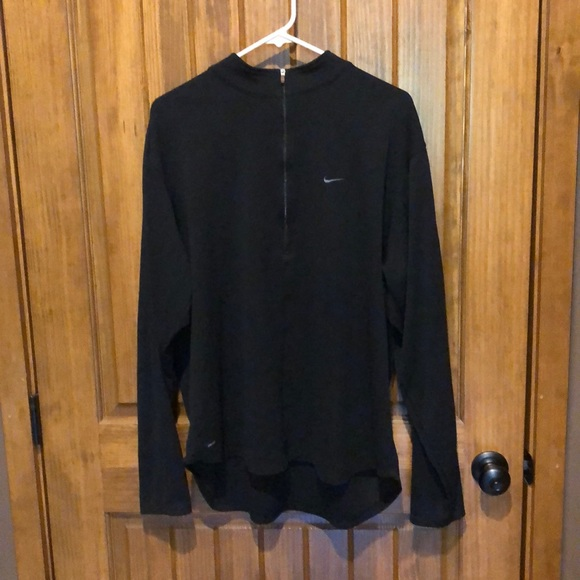 Nike Other - Black Nike 1/2 zip pullover